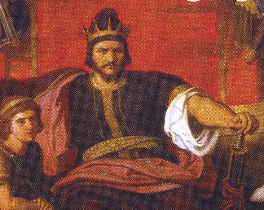 Atila, rey de los hunos.